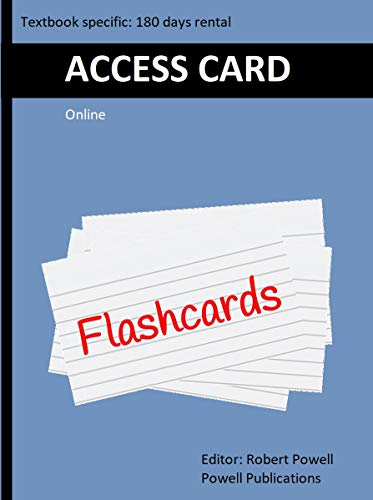 Access Card for Online Flash Cards, to accompany First Aid Q&A for the NBDE Part I (First Aid Series) (Pt. 1) (Cards Flash Nbde)