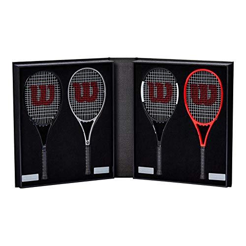 Wilson Roger Federer Mini Racquet Kit () (Federer Wilson Roger Racket)