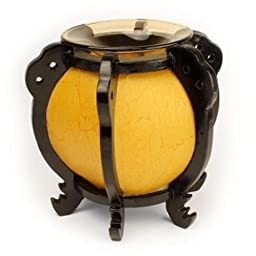 Asian Style round bowl oil warmer burner