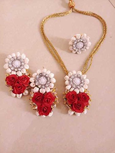 Buy Artificial Flower Jewellery Set Online At Low Prices In India
