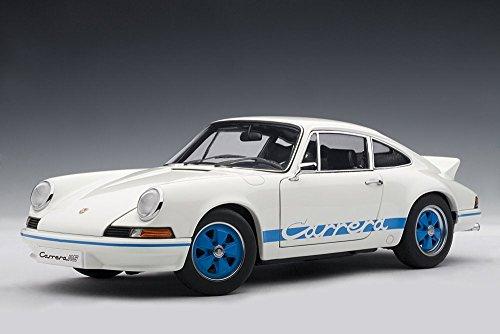 1973 Porsche 911 Carrera RS 2.7, White - Auto Art 78052 - 1/18 Scale Collectible Diecast Replica