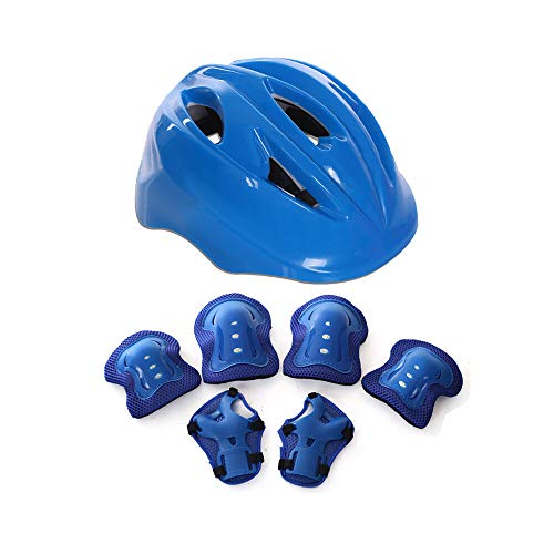 March-Spring-Kids-Helmet-and-Knee-Pads-for-Kids-3-8-Years-Protective-Gear-for-Kids-Sport-Protective-Gear-for-Roller-Skating-Cycling-Skiing-Bicycle-Skateboard
