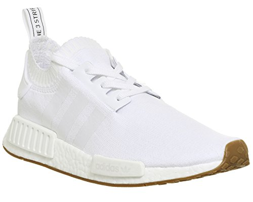 adidas Originals NMD_R1 PK Primeknit, footwear white-footwear white-gum, 12
