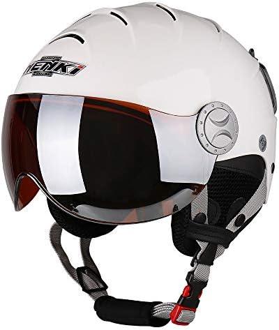 NENKI Ski Helmet with Visor Snow Sport Skiing Snowboard Helmets for Men Women Youth Anti Fog Visor NK-2012