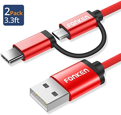 FONKEN Charging Multiple Compatible 2Pack Red product image