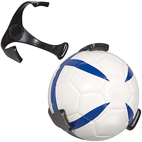 XZANTE Ball Holder Claw Wall Rack Display for Rugby Soccer Football Basketball