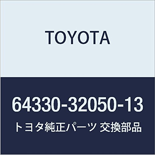 Toyota Genuine 64330-32050-13 Package Tray Trim Panel Assembly