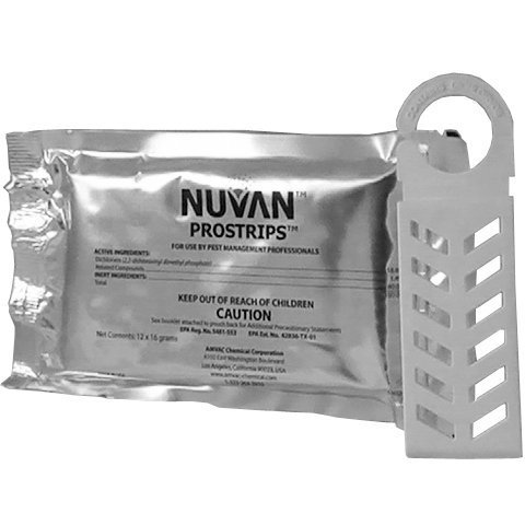 Nuvan ProStrips - Package of 12 Strips with 12 Cages - 16 Gram by AMVAC