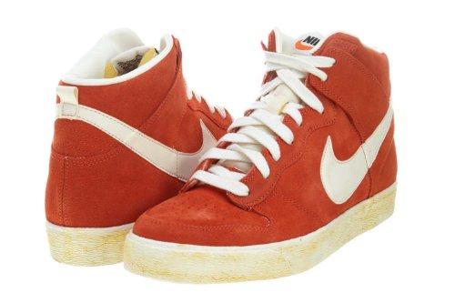 Nike Dunk Hög Ac Vntg Mörk Koppar (398263-801) Apelsin