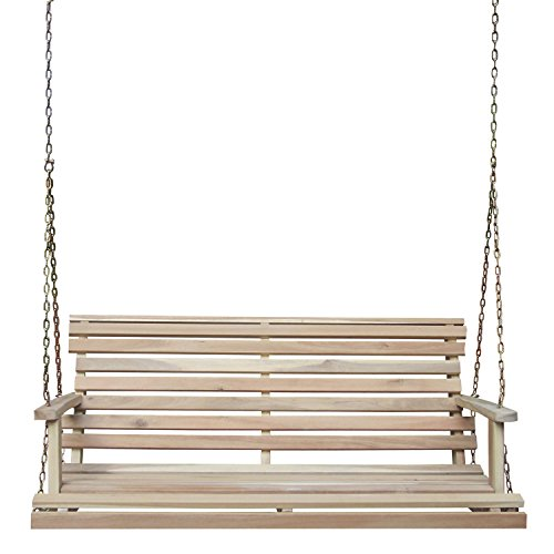 International Concepts Porch Swing with Chain, -