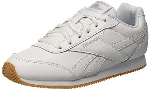 Reebok Royal Cljog 2, Zapatillas de Running para Niños Blanco (White/Cloud Grey/Gum 000)
