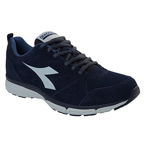 Diadora - Zapatillas de gimnasia de Material Sintético para hombre Azul azul Azul