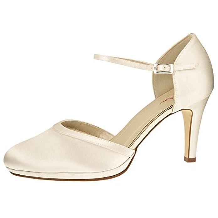 Scarpe E Borse Da Donna Col Tacco Elsa Coloured Shoes Avorio