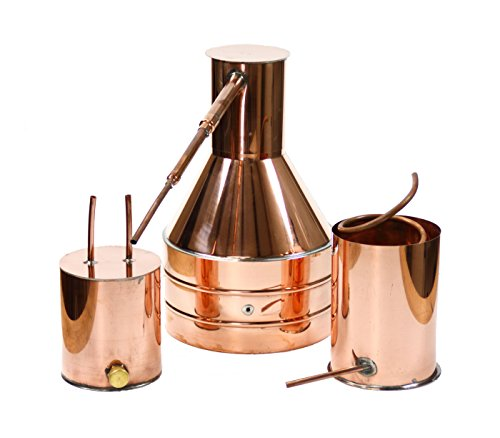 North Georgia Still Company 2.5 Gallon Copper Moonshine Still with Worm and Thumber by North Georgia Still Company price tips cheap
