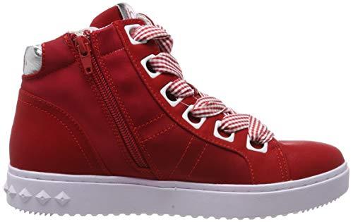 3020 Alto Collo White red 4 32636e Bugatti A Sneaker Rosso Donna 11 nY1PfO1S