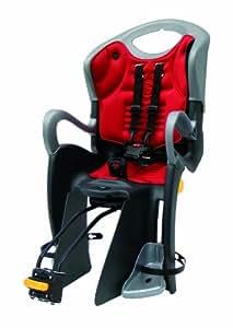 Bellelli Sicherheits-Kindersitz Tiger-Relax Sitzneigung verstellbar mit Einleger EN 14344 geprüft - Silla de bicicletas para niños ( relax, ajustable, 22 kg ), color negro / naranja