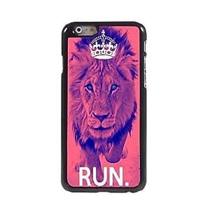 SHOUJIKE The Lion Design Aluminum Case for iPhone 6 Plus , Lemon