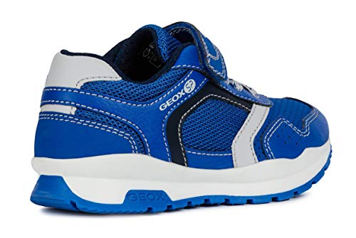J845dd zapatillas navy On chico On slip elástico Boy Coridan Zapatillas Zapatos Geox Royal Niños slip Deportivos velcro qESRavc