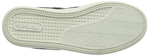 Gola Equipe Suede, Zapatillas para Hombre Marrón (Tobacco/navy Fe)