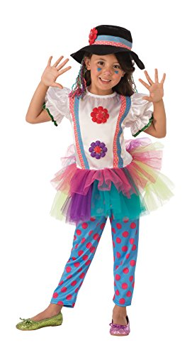 Rubie's Costume Colorful Clown Value Child Costume, Small