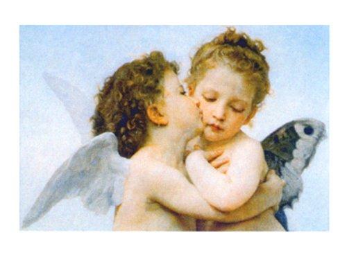 Buyartforless The First Kiss W. Bouguereau 16x20 Art Print Poster