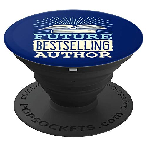 Future Bestselling Author PopSockets Grip and Stand for Phones and Tablets