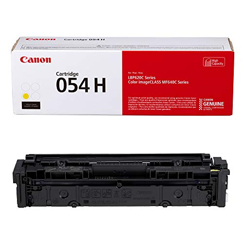 Capacity Cartridge Yellow Laser - Cartridge 054 Yellow High Capacity - Yields up to 2,300 Pages