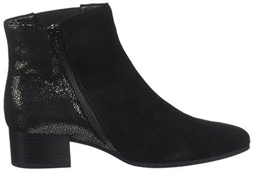 Gabor Kvinder Komfortabel Sport Støvler Sort (sort / Antracit Micr) IOqG24