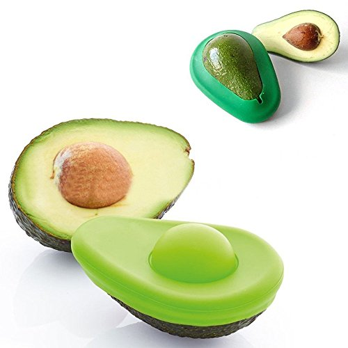 Sunnycows Kitchen Tools Set, 3-in-1 Avocado Slicer,Avocado Saver and Silicone Food Storage Holder,Free Gift Vegetable Slicer Not Just for Onion by Sunnycows (Image #1)