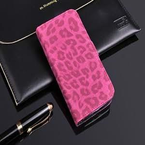 Leopard Wallet Support Case For Samsung Nexus 2 I9260 --- Color:Grey