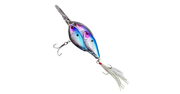 Minnow Wobbler Bionic Bait Fishing Lure+20pcs Accessories Plastic Hard Crank