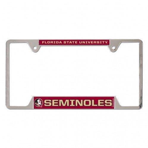 Wincraft Florida State Seminoles Metal License Plate Frame -