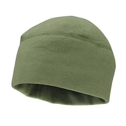 Amazon.com   Army Green Olive Drab OD Polar Fleece Watch Cap Hat ... c1509d30b71