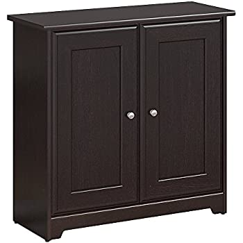 Amazon Bush Furniture Cabot Small Storage Cabinet With Doors In