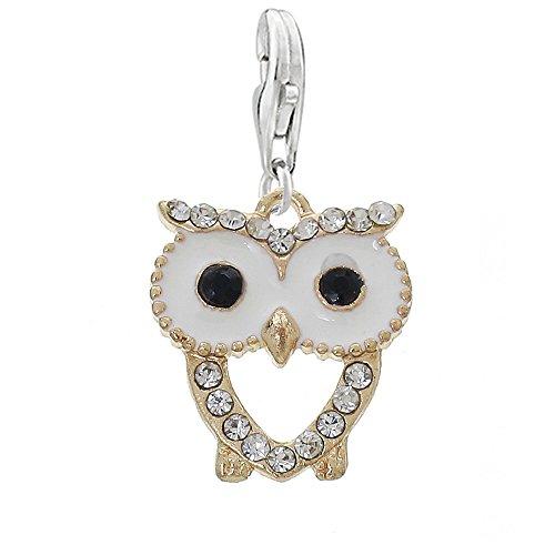 Clip Pendant Charm Bracelet Necklace