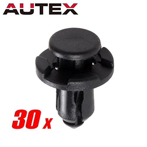 PartsSquare 30pcs Fender Liner Fastener Rivet Push Clips Retainer for (2004 Subaru Impreza Body)