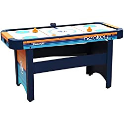 Harvil 5 Foot Air Hockey Table for Kids and Adults with Dual Electric Blowers, Leg Levelers and Free Pushers and Pucks.