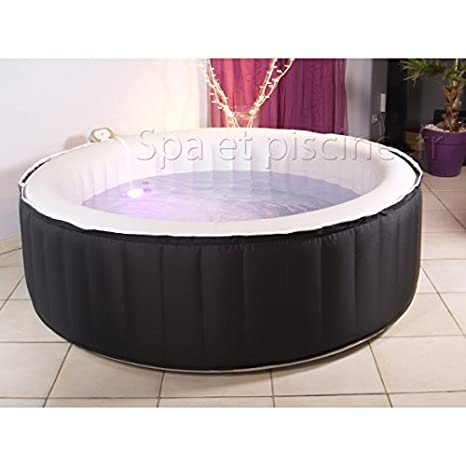 Water Clip Eclips - SPA Hinchable Water, para 6 Personas: Amazon ...