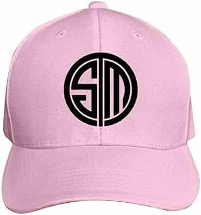 3e28dec8a2048 Hyejizn Classic Adult Peaked Cap,Cool Team SoloMid T-S-M Logo 3D Printed Baseball  Snapback Hats