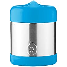 FIREKI 10 oz Food Canister | Vacuum Insulated Food Jar (Sky Blue)