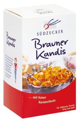 Südzucker Kandiszucker braun, 12er Pack (12 x 500 g)