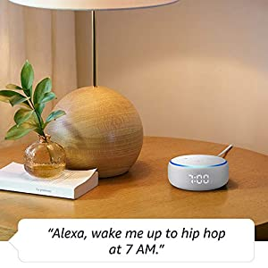 All-new Echo Dot (3rd Gen) – Smart speaker with clock and Alexa – Sandstone