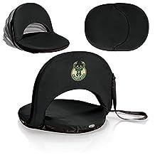 NBA Milwaukee Bucks Topanga Cooler Tote, One Size, Black
