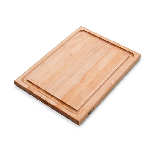 John Boos Maple Wood Edge Grain Reversible Cutting Board with Juice Groove, 24 Inches x 18 Inches x 1.5 Inches by John Boos (Image #3)