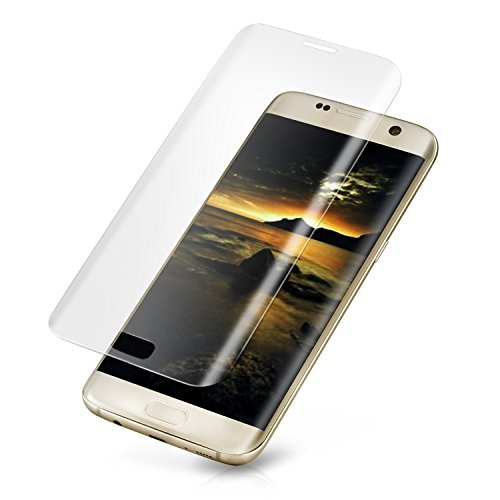 Redlink Galaxy S7 Edge Screen Protector Full Coverage 3D Glass tempered Screen Protector for Samsung Galaxy S7 Edge