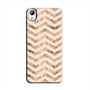 Cover It Up - Brown Pink Tri Stripes Desire 626 Hard case