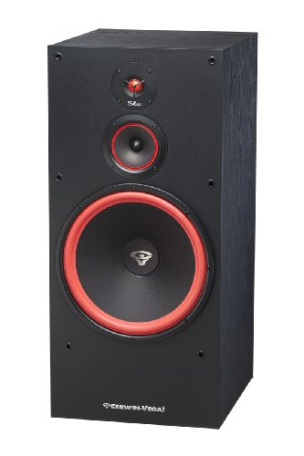 Cerwin-Vega SL-15 15″ 3-Way Floor Tower Speaker