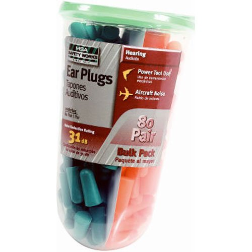 Learn More About Safety Works 10087625 Foam Ear Plugs, Orange and Green, 80-Pairs