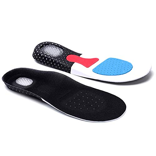 Men Support Cushion KY Gel Orthotic Sport Running Insoles Insert Shoe Pad Arch (41-45) by LYG (Image #5)