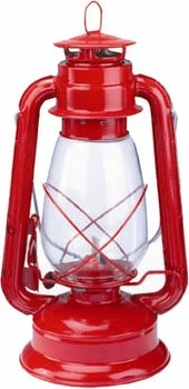 Red Hurricane Camping Kerosene Lantern, Outdoor Stuffs